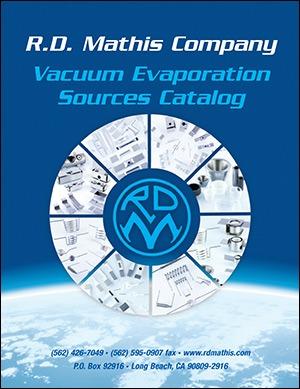 Vacuum Evaporation Sources Catalog
